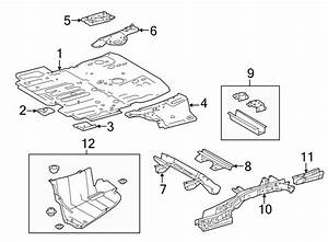 Toyota Highlander Trunk Floor Access Cover  Rear