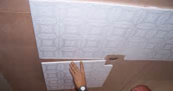 ceiling tile installation