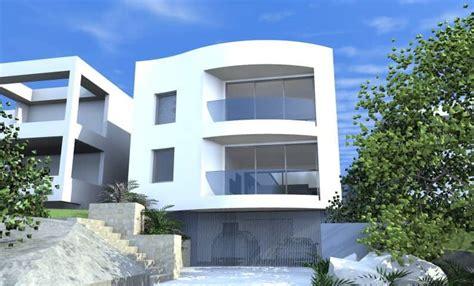 architect design  concept curve house queenscliff