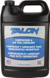 gal bottle amber  weight talon pneumatic air tool oil