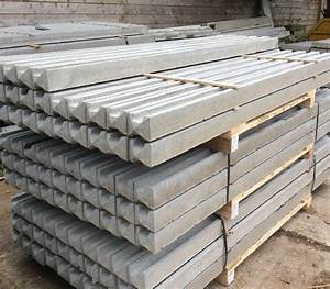 Concrete Slotted Fence Posts - Kudos Fencing Supplies
