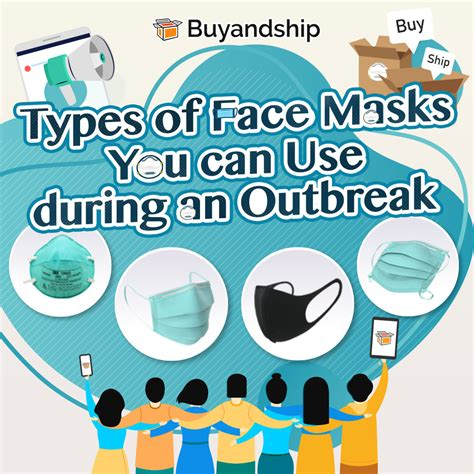 types  face masks      outbreak