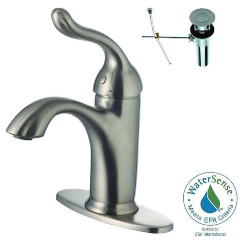 Brushed Nickel Bathroom Faucets Cleaning by Lsh Single Single Handle Swivel Arm Vessel