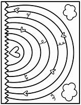 Pond Preschool Coloring sketch template