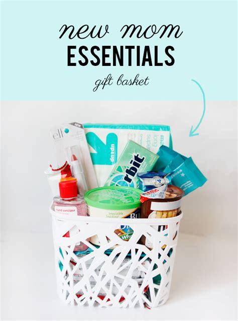 bring   mom  mom essentials gift basket