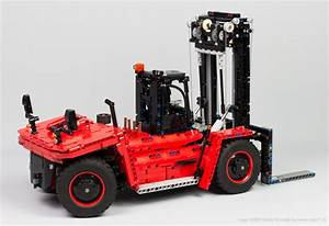 42082 D Model  U2013 Heavy Forklift Truck  U2013 Nico71 U0026 39 S Technic