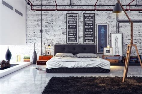 Rustic Industrial Bedroom Pictures, Photos, And Images For