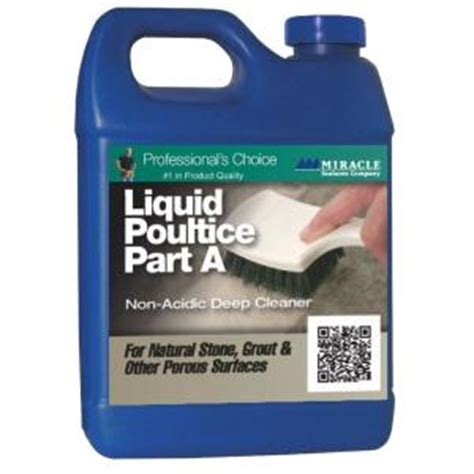 miracle sealants 32 oz liquid poultice cleaner liq qt a b sg the home depot