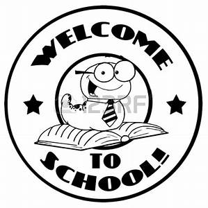 Welcome Back To School Clipart Black And White - ClipartXtras