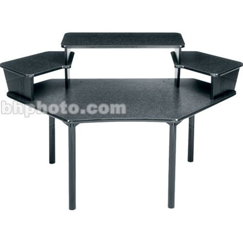 middle atlantic desk middle atlantic corner desk w 3 pce overbridge mdv cnr3