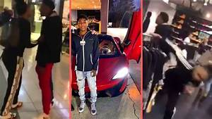 NBA YoungBoy Runs Up On Group Of Dudes In The Mall With