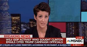 Rachel Maddow Explains Why The WSJ Report Of GOP Collusion ...
