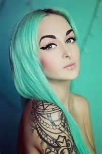 Best 25 Mint Hair Ideas On Pinterest Mint Hair Color