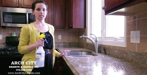 how to remove scratches from granite countertops