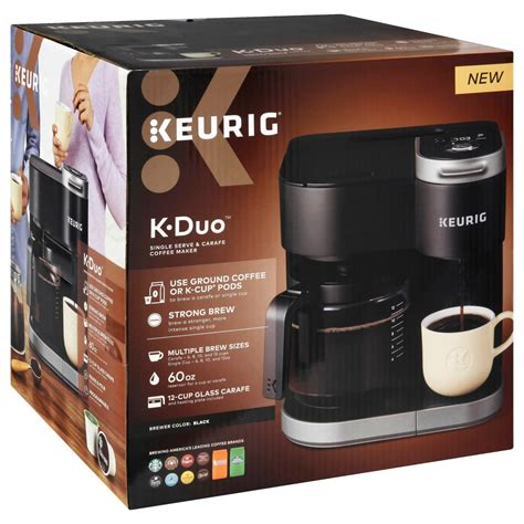 This versatile brewer is the best of both worlds. Keurig K-Duo Single Serve & Carafe Coffee Maker - Shop Appliances at H-E-B