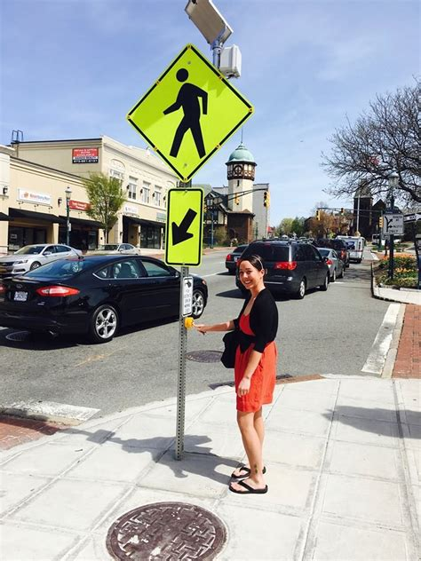 solar powered led crosswalk signs grace south orange