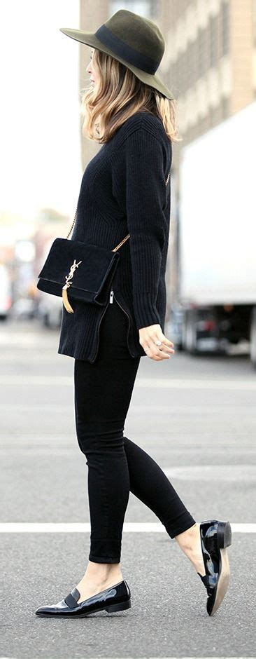 10+ ideas about Loafers Outfit on Pinterest | Black oxfords outfit Layering clothes and Flat ...