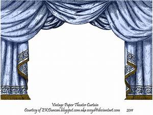 Blue paper theater curtain by eveyd on deviantart for Blue theatre curtains png