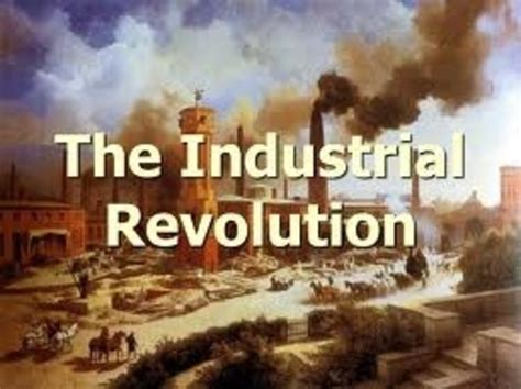 Industrial Revolution: Top 10 Inventions timeline