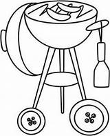 Grill Embroidery Grilling Designs Crafts Pdf Coloring Pages Tastic Heart Sewing Drawing Urbanthreads Needlework Drink sketch template