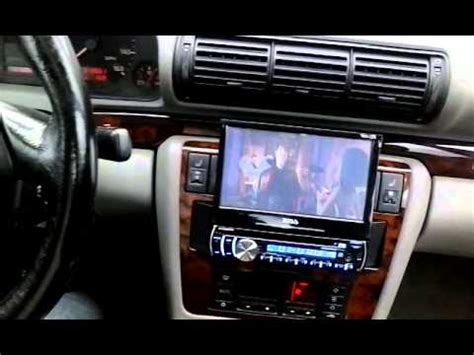 1998 Audi A4 Bose System With Aftermarket Radiodvd Youtube