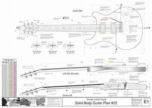 Solid Body Electric Guitar Plans  24  Electronic Version