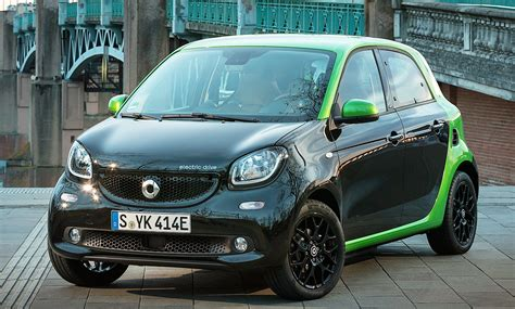 neuer smart forfour electric drive  erste testfahrt