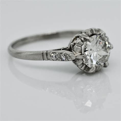 home design diamonds antique crown design ring claude morady estate