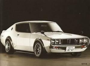 1973 Nissan Skyline GTR JDM lifestyle Pinterest