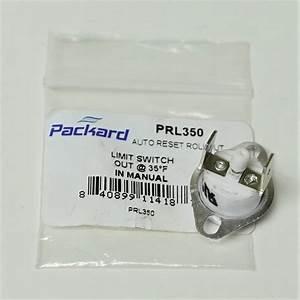 Prl350 L350 Limit Thermostat Manual Reset For Furnance