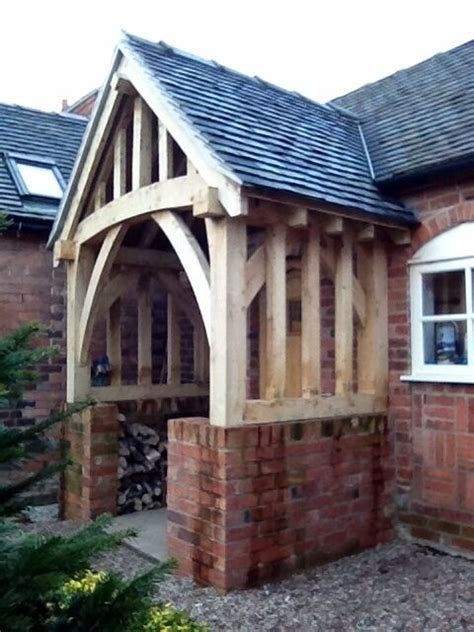 Timber Porch Kits by Oak Porch Doorway Wooden Porch Canopy Entrance Self