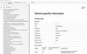 2019 Audi A6 Repair Manual