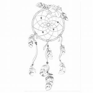 Faire Un Attrape Rêve Facile : faire un attrape reve facile dessin hibou a imprimer et ~ Melissatoandfro.com Idées de Décoration