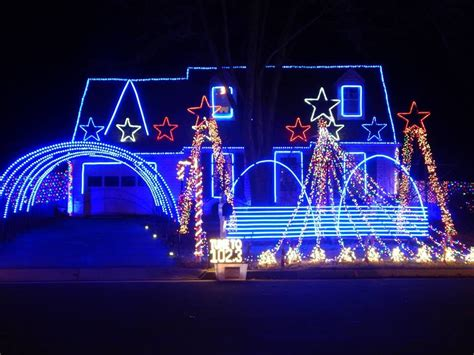 christmas light displays around northern virginia