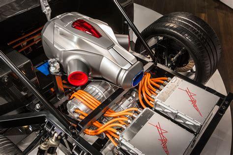 company tests turbine driven electric car roadshow