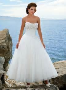 ankle length wedding dress ankle length wedding dresses