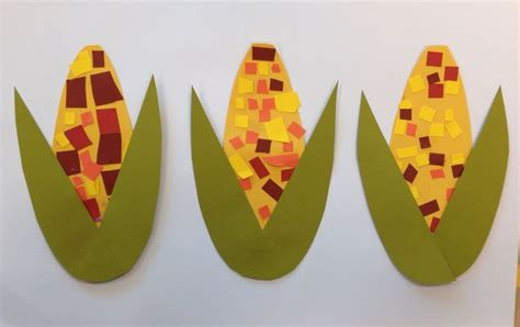 harvest corn scissor practice craft fall preschool 295 | 147f0ca18f1c38b1db856cff98450709