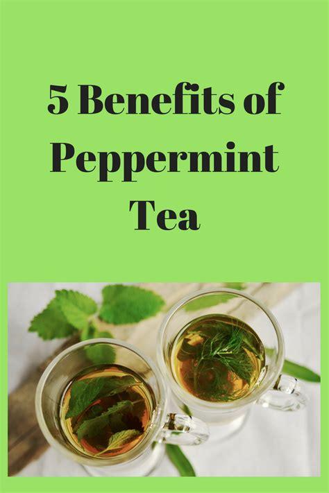 peppermint tea benefits 5 benefits of peppermint tea