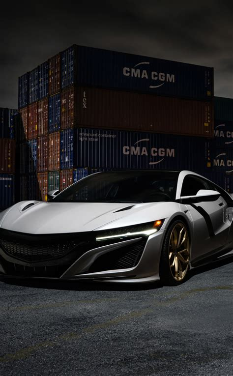 Acura Nsx Iphone Wallpaper by Acura Nsx Hd 8k Wallpaper
