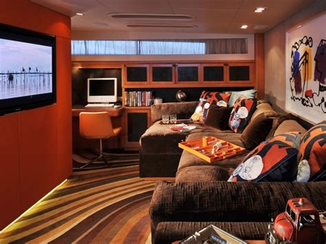 cheeky tiger entertainment room luxury yacht browser