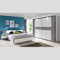 Schlafzimmer Komplett 3teilig Mit Beleuchtung 180x200cm