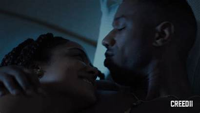 Creed Jordan Michael Ii Kiss Kisses Giphy