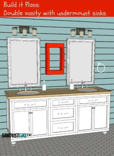 Bathroom Vanity Plans by Vanity With Center Drawers Free Plans House