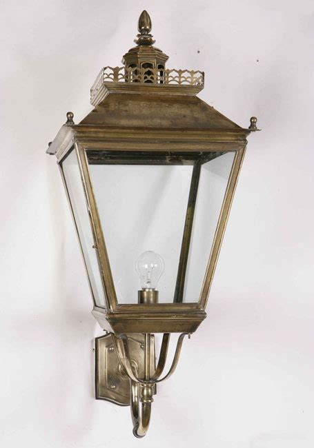 large victorian period chateau outdoor wall light solid