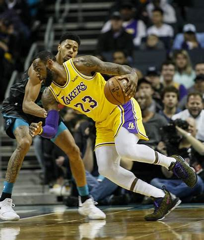 Lebron Lakers James Ball Lonzo Hornets Doubles