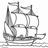 Coloring Boat Ship Printable Motor Speed Mayflower Sailboat Drawing Cool2bkids Getdrawings Sunken Clipartmag Getcolorings sketch template