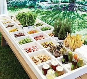 wedding gourmet hamburger bar buffet wedding planning With summer wedding food ideas