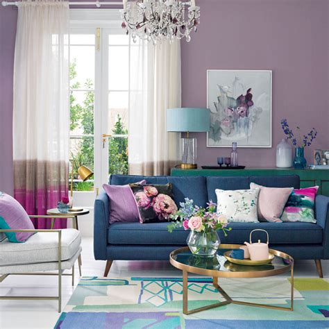 Purple Living Room Ideas  Ideal Home. Curtains In Living Room. Decorative Mantels. Hotel In Seattle With Hot Tub In Room. Decorative Tray For Coffee Table. Decorative Shelves For Walls. Home Room Furniture. Great Room Lighting Ideas. Room And Board Side Table