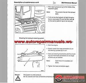 Krupp Crane Kmk 2025 Workshop Manuals