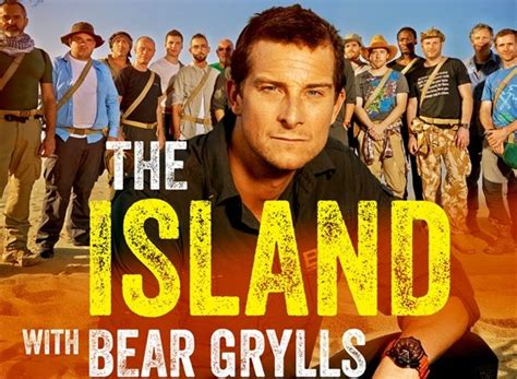 island  bear grylls tv show air  track